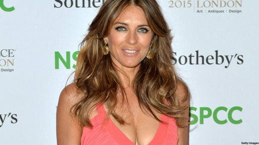 Elizabeth Hurley Red Carpet Arrivals