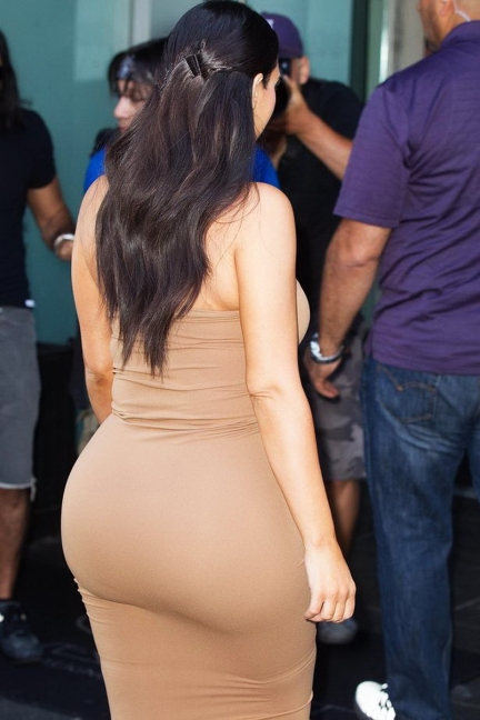 Kim Kardashian Big Butts Are Fun Only For So Long - Credit Getty images