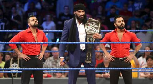 Jinder Mahal confronted Randy Orton