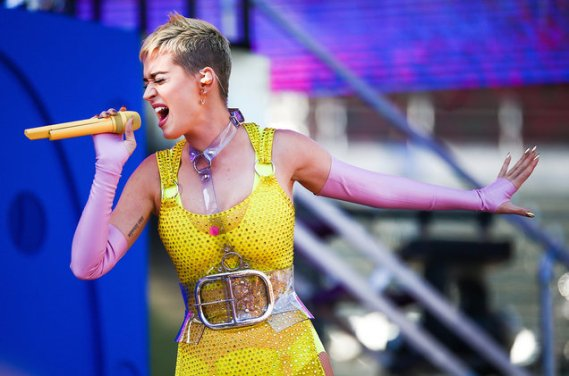 Katy Perry Opens Up About Suicidal Thoughts on Livestream