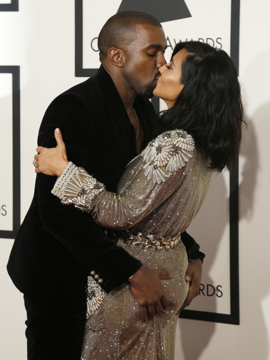Kim Kardashian and Kanye West - Credit Getty Images