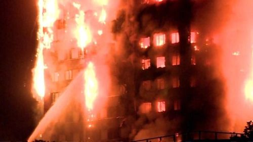London fire Individuals Caught as Real Burst Overwhelms Tower piece