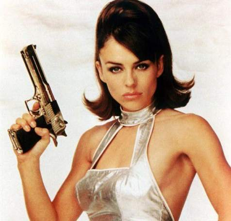 Sultry Spy in Austin Powers - via: pinterest.co.uk