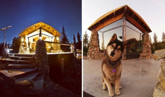 7. Snowboarders_ eco-houses Image Credit - © MikeBasich