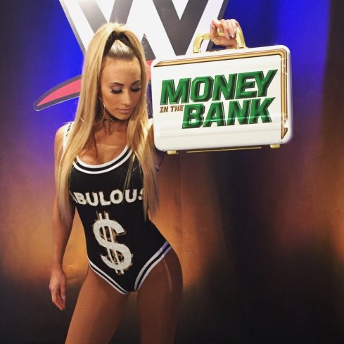 CARMELLA MONEY IN THE BANK
