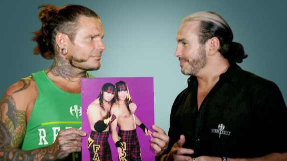 Jeff and Matt Hardy – Jeffrey Nero Hardy and Matthew Moore Hardy