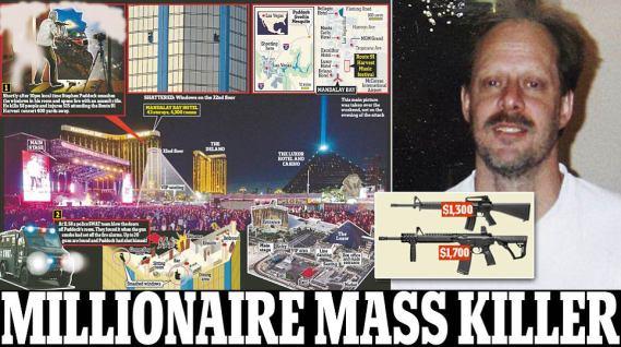 Las Vegas Shooter - Image Credit - Dailymailuk
