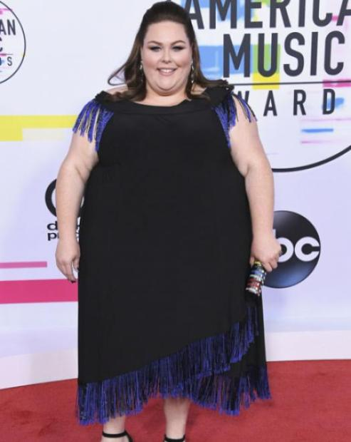Chrissy Metz - American Music Awards 2017 - Credit Getty Images