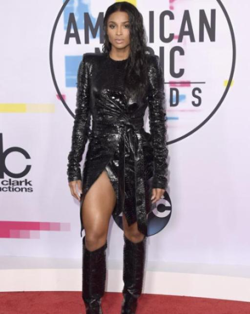Ciara - American Music Awards 2017 - Credit Getty Images