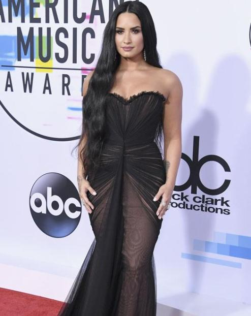 Demi Lovato - American Music Awards 2017 - Credit Getty Images
