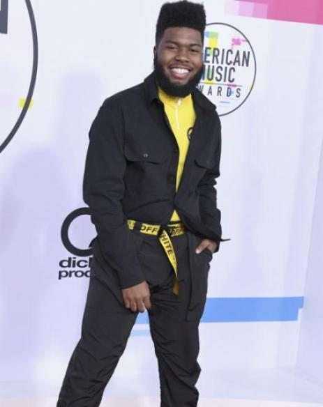 Khalid - American Music Awards 2017 - Credit Getty Images