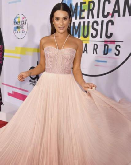 Lea Michele - American Music Awards 2017 - Credit Getty Images