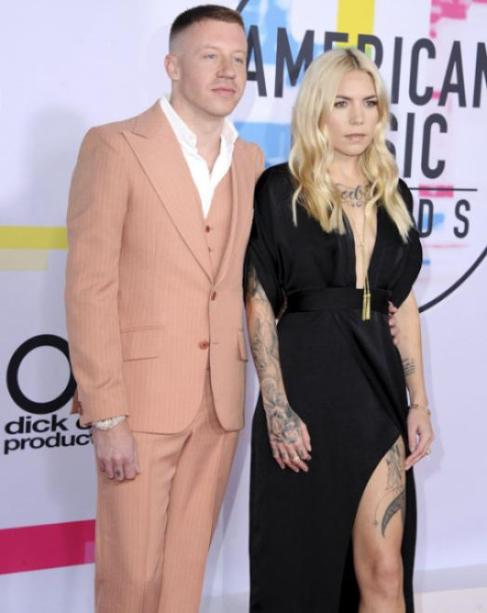 Macklemore, Skylar Grey - American Music Awards 2017 - Credit Getty Images