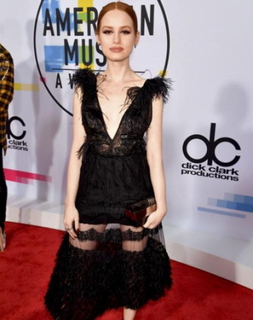 Madelaine Petsch - American Music Awards 2017 - Credit Getty Images