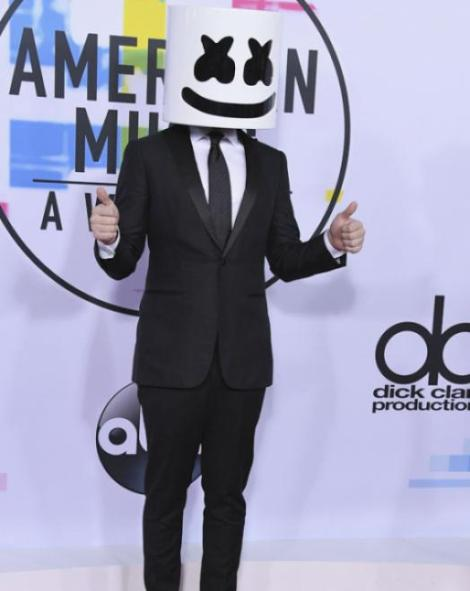 Marshmello - American Music Awards 2017 - Credit Getty Images