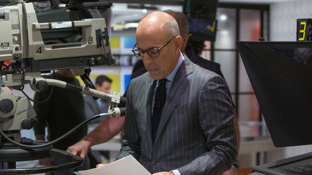 Matt Lauer Responds to Harassment Claims