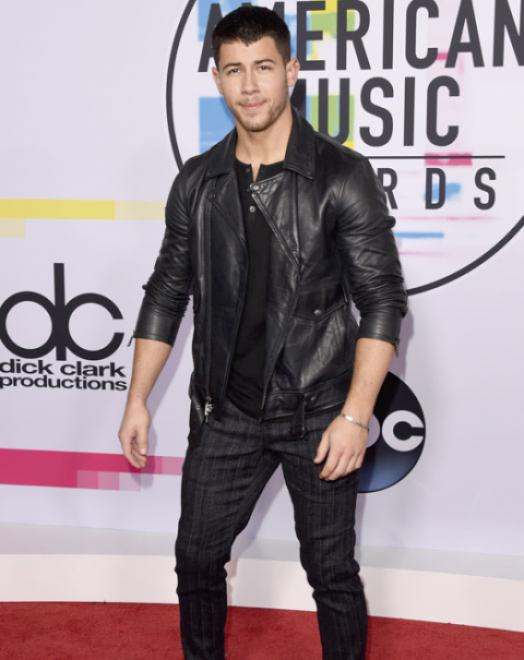 Nick Jonas - American Music Awards 2017 - Credit Getty Images