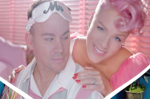 Pink Gets Channing Tatum to Dance in Beautiful Trauma