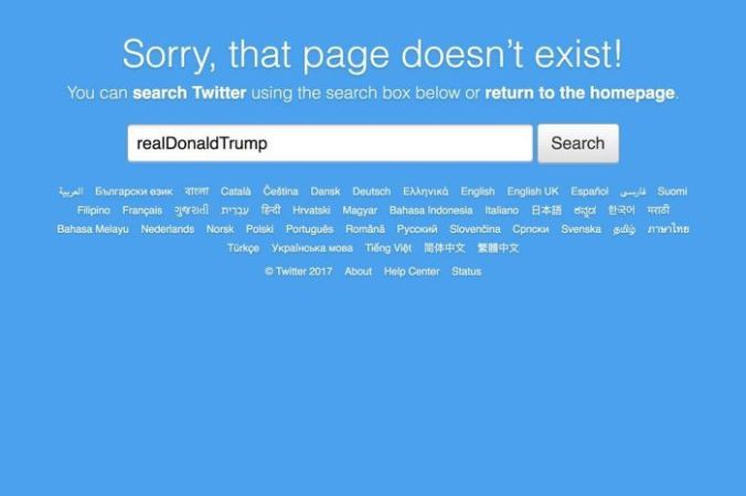 Twitter employee deactivates Donald Trump's account on last day of work
