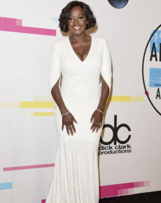 Viola Davis - American Music Awards 2017 - Credit Getty Images