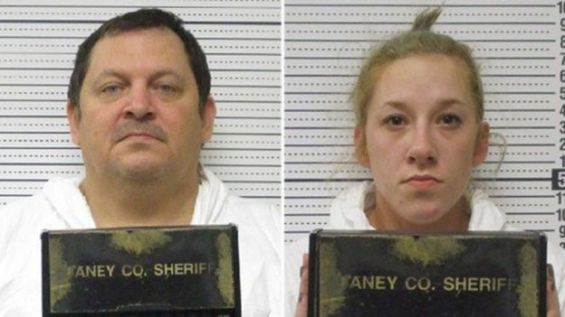 Bailey Boswell (R) and Aubrey Trail posted videos on social media proclaiming their innocence