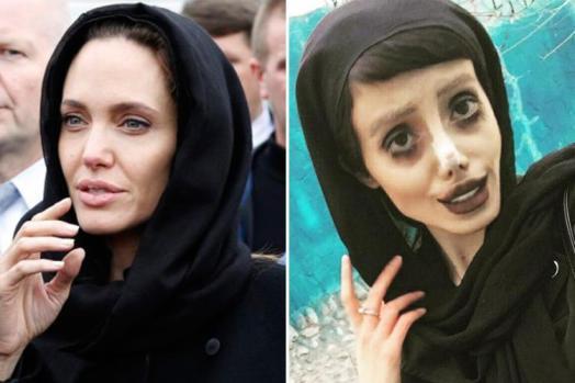 Iranian Instagram star Sahar Tabar 'undergoes treatments to look like Angelina Jolie