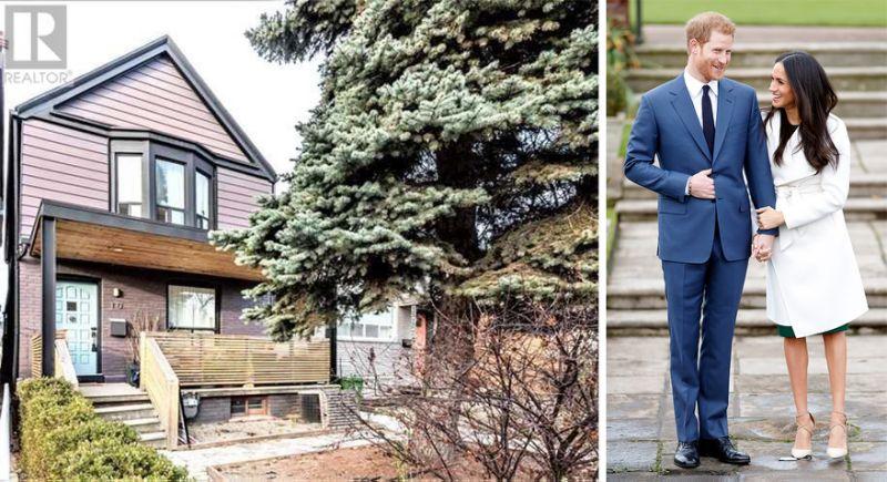 Meghan Markle's former Toronto home