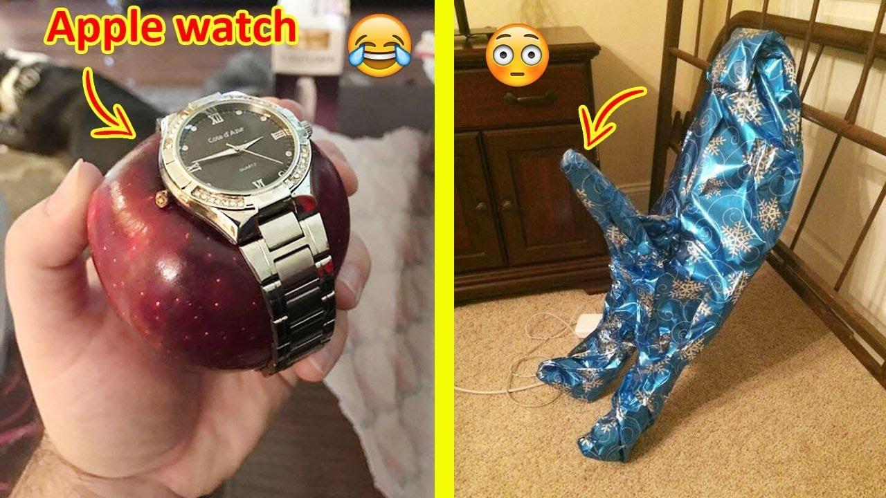 FUNNY Christmas Gift Fails   Funniest Christmas Gift Ideas Ever The Funniest Christmas Gift Trolling