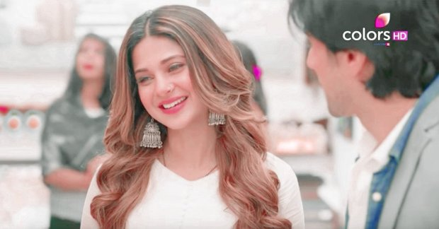 Bepannaah JenniferWinget and HarshadChopda shine - Image Credit - Colors