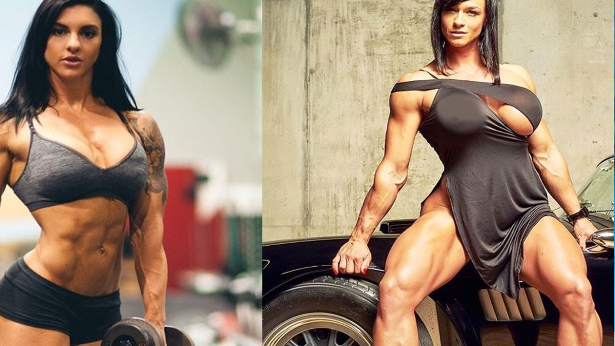 Inspiring-Female-Indian-Fitness-Bodybuilding-Turn-Models