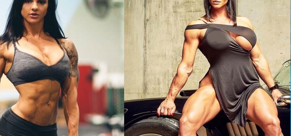 Inspiring-Female-Indian-Fitness-Bodybuilding-Turn-Models