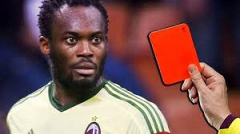 10 MOST FAMOUS RED CARDS IN FOOTBALL