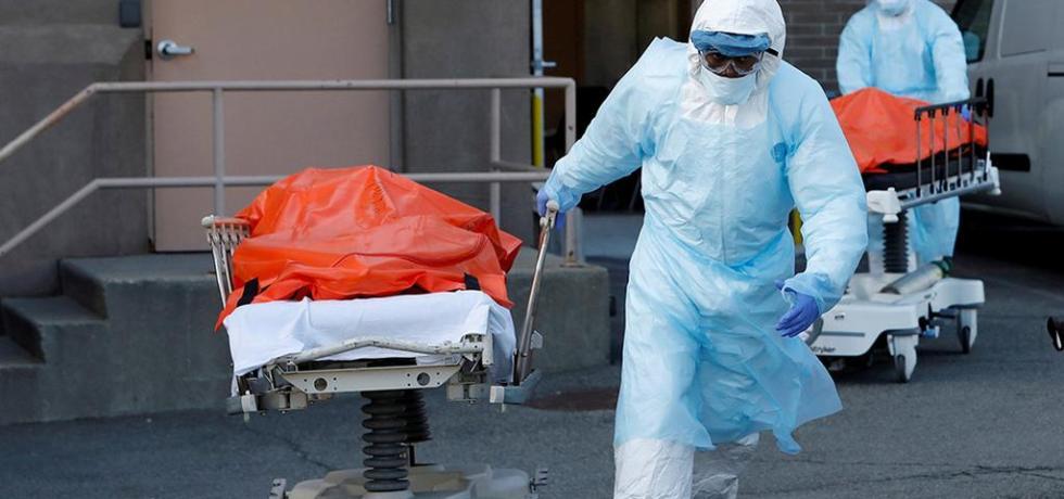 United States logs world's highest coronavirus death toll